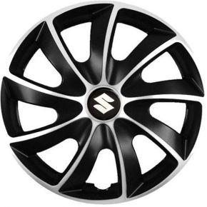 """Puklice pre Suzuki 17"""", Quad bicolor, 4 ks"""