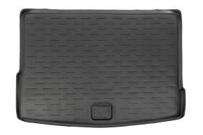 Kofferbakmat rubber, VOLKSWAGEN TIGUAN II 2016- (upper floor)