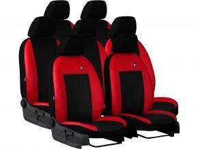 autostoelhoezen op maat Leer ROAD NISSAN QASHQAI I 2+ 7p. (2009-2013)