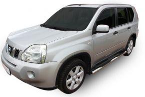 Bočné nerezové rámy, Nissan X-Trail T31 2007-2013