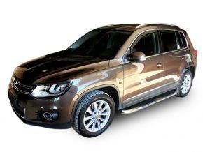 Bočné nerezové rámy, Volkswagen Tiguan 2007-2015