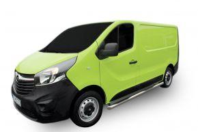Bočné nerezové rámy, Opel Vivaro 2002-2011