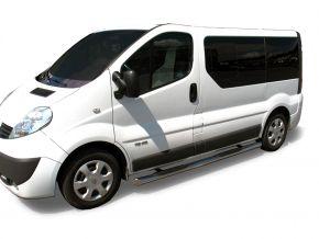 Bočné nerezové rámy, Renault Trafic 2002-2011