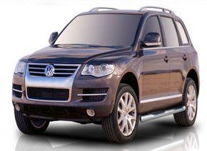 Bočné nerezové rámy, Volkswagen Touareg 2002-2010