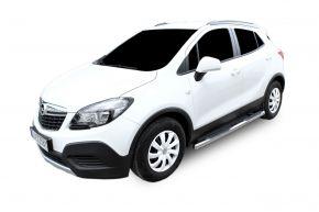 Bočné nerezové rámy, Opel Mokka 2012-up