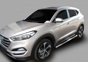 Bočné nerezové rámy, Hyundai Tucson 2015-up