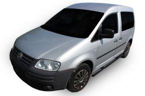 Bočné nerezové rámy, Volkswagen Caddy 2003-2015, 60,3 mm BLACK
