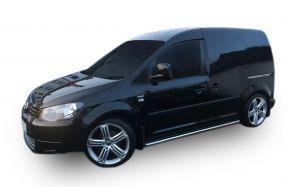 Bočné nerezové rámy, Volkswagen Caddy 2003-2015, 60,3 mm