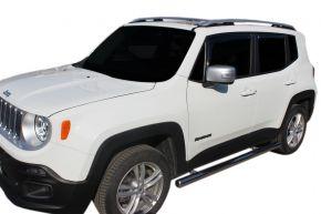 Bočné nerezové rámy, Jeep Renegade 2014-up