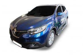 """Bočné nerezové rámy, Renault Kadjar 2015-2019 4"""" oval"""