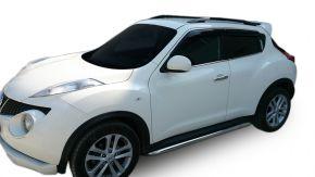 Bočné nerezové rámy, Nissan Juke 2010-2014 / 2014-2019 60,3 mm