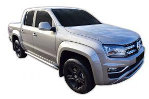 Bočné nerezové rámy, Volkswagen Amarok 2010-2016, 2016-up
