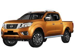 Bočné nerezové rámy, Nissan Navara NP300 2016-up