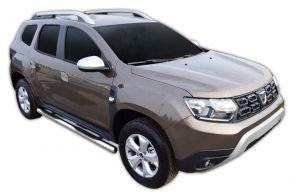 Bočné nerezové rámy, Dacia Duster 2 2018-up
