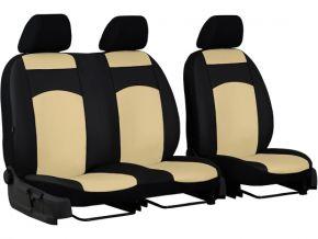 Autostoelhoezen op maat Leer FORD TRANSIT VI 2+1 (2006-2013)