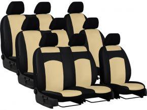 Autostoelhoezen op maat Leer STANDARD FORD TOURNEO CUSTOM II 9p. (2013-2020)