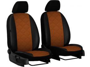 Autostoelhoezen op maat Leer (met patroon) MERCEDES VITO W638 1+1 (1996-2003)