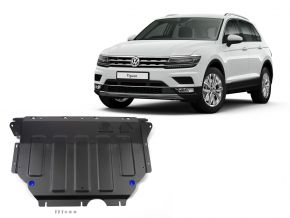 De stalen deksel van de motor en de voor Volkswagen Tiguan 1,4TSI; 2,0TSI; 2,0TDI 2016-