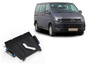 De stalen deksel van de motor en de voor Volkswagen  T5 (Caravelle; Multivan; Transporter) past op alle motoren 2003-2010, 2010-2015, 2015-