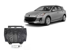 De stalen deksel van de motor en de voor Mazda 3 1,5; 1,6; 2,0 2013-