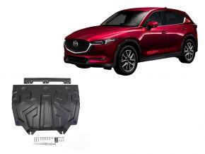 De stalen deksel van de motor en de voor Mazda CX-5 2,0; 2,5; 2,2D 2017-