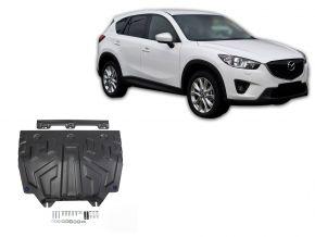 De stalen deksel van de motor en de voor Mazda CX-5 2,0; 2,5; 2,2D 2011-2017