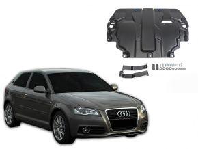 De stalen deksel van de motor en de voor Audi A3 8P past op alle motoren 2003-2012