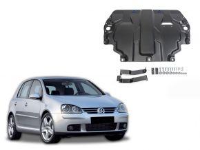 De stalen deksel van de motor en de voor Volkswagen  Golf V past op alle motoren 2004-2008