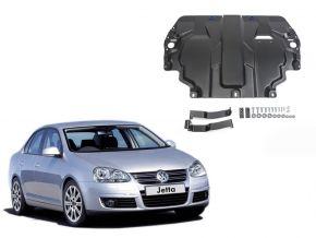 De stalen deksel van de motor en de voor Volkswagen  Jetta past op alle motoren 2009-2017