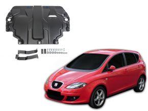 De stalen deksel van de motor en de voor Seat Altea 1,6; 2,0TDI; 2,0TSI 2004-2015
