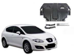 De stalen deksel van de motor en de voor Seat Leon 1,6; 2,0TDI 2005-2013