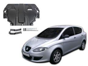 De stalen deksel van de motor en de voor Seat Toledo III 1,6; 2,0TDI 2004-2009