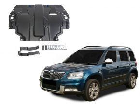 De stalen deksel van de motor en de voor Skoda  Yeti past op alle motoren 2009-2017