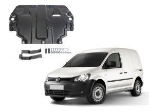 De stalen deksel van de motor en de voor Volkswagen  Caddy IV past op alle motoren (w/o heating system) 2015-