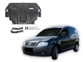 De stalen deksel van de motor en de voor Volkswagen  Caddy III past op alle motoren (w/o heating system) 2006-2015
