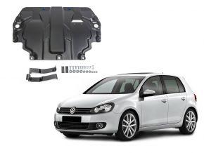 De stalen deksel van de motor en de voor Volkswagen  Golf VI past op alle motoren 2009-2013