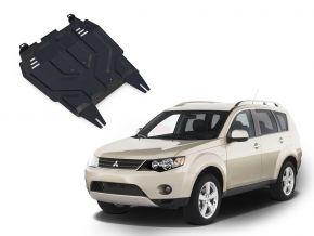De stalen deksel van de motor en de voor Mitsubishi Outlander  2,0; 2,4 2007-2012