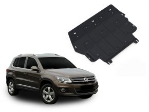 De stalen deksel van de motor en de voor Volkswagen Tiguan 2,0TSI; 2,0TDI 2008-2011; 2011-2016