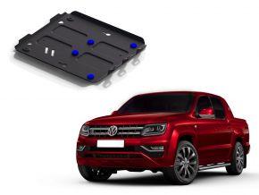 Stalen motorafdekking en koellichaam voor Volkswagen Amarok 2,0TDI; 3,0TDI 2010-2016 , 2016-