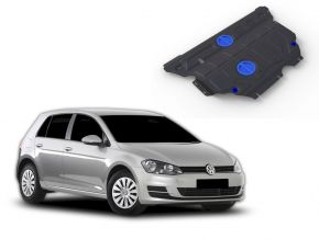 De stalen deksel van de motor en de voor Volkswagen Golf VII 1,2TFSI; 1,4TFSI (122hp) 2013-
