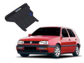 De stalen deksel van de motor en de voor Volkswagen Golf III  MT 1,4; 1,6; 1,8; 2,0; 1,9TD 1991-1997