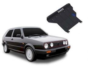 De stalen deksel van de motor en de voor Volkswagen Golf II MT past op alle motoren 1986-1992