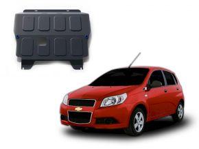 De stalen deksel van de motor en de voor Chevrolet Aveo 1,2; 1,4 2008-2012