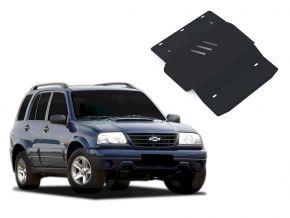 De stalen deksel van de motor en de voor Chevrolet Tracker past op alle motoren 1998-2004