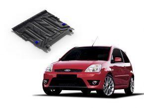De stalen deksel van de motor en de voor Ford Fiesta 1,3; 1,4; 1,6 2002-2008