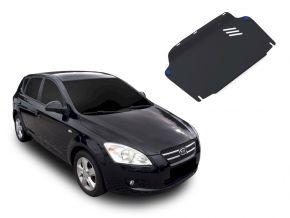 De stalen deksel van de motor en de voor Kia Ceed / Ceed SW / Pro Ceed 1,4; 1,6; 2,0 2007-2012
