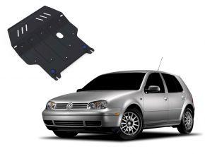 De stalen deksel van de motor en de voor Volkswagen Golf IV past op alle motoren 1998-2005