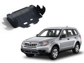 Stalen motorafdekking en koellichaam voor Subaru Forester CVT 2,0; 2,5 2013-2016; 2016-2018