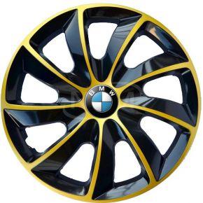 """Wieldoppen voor BMW 15"""", STIG EXTRA goud  4 stuks"""