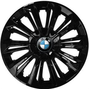 "Wieldoppen BMW 15"", STRONG zwart gelakt 4 stuks"
